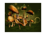 Relax 3D Computer Graphics Lámina giclée prémium por Atelier Sommerland