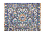 Oriental Mosaic In Morocco Prints by  p.lange