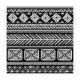 Abstract Tribal Pattern Kunst af  transiastock