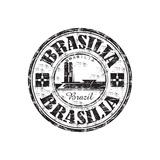 Brasilia Grunge Rubber Stamp Stampe di  oxlock