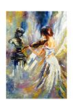 The Girl Playing A Violin Posters par  balaikin2009