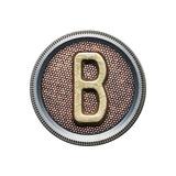 Metal Button Alphabet Letter Posters av  donatas1205