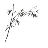 Chinese Painting Of Bamboo Affiches par  bluesee