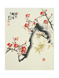 Asian Traditional Painting Poster von  WizData