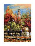 Ancient Vitebsk In The Autumn Affiches par  balaikin2009