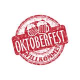 Oktoberfest Grunge Rubber Stamp Posters por  oxlock