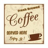 Vintage Coffee Poster Taide tekijänä  radubalint