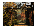 Entrance To The Park Prints by Atelier Sommerland