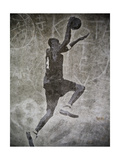 Streetball Dunking Graffiti Prints by  yobro
