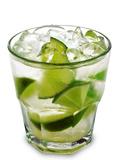 Caipirinha - National Cocktail Of Brazil Made With Cachaca, Sugar And Lime Valokuvavedos tekijänä  svry