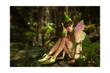 In The Fairy Forest Print by Atelier Sommerland