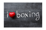 Love Boxing Kunst von Yury Zap