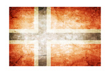 Norway Flag Prints by  kwasny221