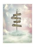 Fantasy Signage Prints by  justdd