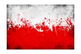 Poland Flag Posters av igor stevanovic