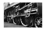 Steam Train Wheels Lámina por  neillang