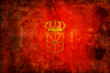 Flag Of Navarra Print by  michal812