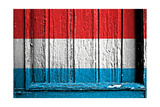 Luxemburg Flag Prints by  budastock