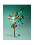 The Turquoise Pixie Pósters por Atelier Sommerland