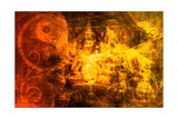 Budda Poster di  kentoh