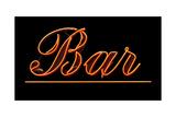Neon Bar Sign Posters par Mr Doomits
