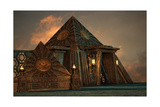 Pyramids Print by Atelier Sommerland
