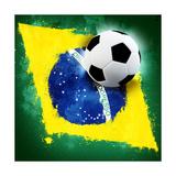 Brazil Soccer Pôsters por  jordygraph