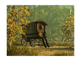 The Gipsy'S Van Prints by Atelier Sommerland