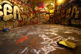 Graffiti Wide Angle Fotografie-Druck von  sammyc