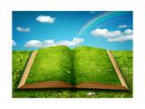 Open Magic Book Posters af  egal