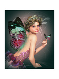 Meet A Butterfly Poster by Atelier Sommerland