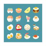 Egg Menu Kunstdrucke von  kibsri