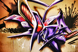 Amazing Abstract Graffiti Tag Reproduction photographique par  sammyc
