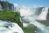 Iguazu Falls Photographic Print by  LevKr