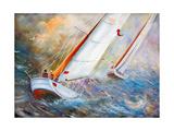 Sea Regatta At A Gale Posters par  balaikin2009