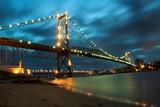 Hercilio Luz Bridge Photographic Print by  cavasotti