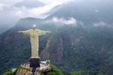 Christ Redeemer - Rio De Janeiro Valokuvavedos tekijänä  megumi