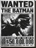Batman Arkham Origins (Wanted) Stampa su tela