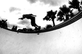 Skateboarding Bw Photographic Print by  Sportlibrary