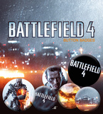 Battlefield 4 - Cover Badge Pack Spilla