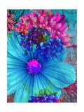 The Blue Blossom Kunstdrucke von Alaya Gadeh
