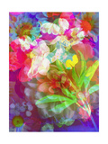 Flowers Bouquet For You Poster von Alaya Gadeh