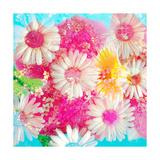 Candy Flowers Kunstdrucke von Alaya Gadeh