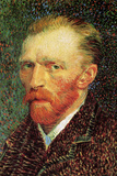 Vincent Van Gogh Self-Portrait 3 Posters