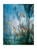 Underwatersky I Posters by Alaya Gadeh