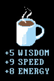 Coffee Points Snorg Tees Poster Pôsters por  Snorg