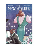 The New Yorker Cover - March 3, 1928 Giclée-Druck von Peter Arno