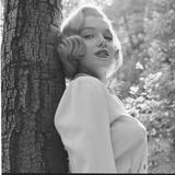 Marilyn Monroe in California Premium-Fotodruck von Ed Clark