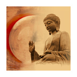 Buddha -Protection Premium gicléedruk van Christine Ganz