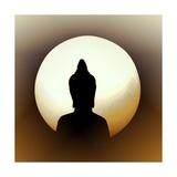 Meditatie Premium gicléedruk van Christine Ganz